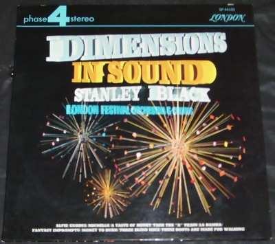 BLACK,  STANLEY - Dimensions In Sound - 33T