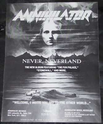 ANNIHILATOR - Never Neverland - Others