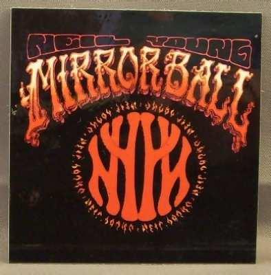 YOUNG,  NEIL - Mirror Ball - Sticker