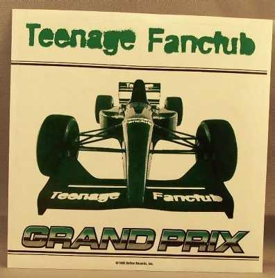TEENAGE FANCLUB - Grand Prix - Sticker