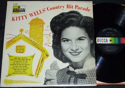 wells,  kitty country hit parade