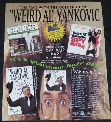 Yankovic,  Weird Al Bad Hair Day