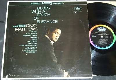 MATTHEWS,  ONZY - Blues With A Touch Of Elegance - 33T