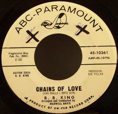 KING,  B.B. - Chains Of Love / Sneakin Around - 7inch x 1