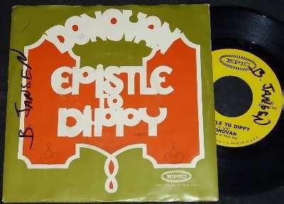 Donovan Epistle To Dippy / Preachin Love W/PS