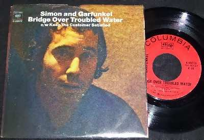 Simon & Garfunkel Bridge Over Troubled Water / Keep The Customer Satisfied W/PS