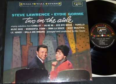 Lawrence,  Steve & Eydie Gorme Two On The Aisle