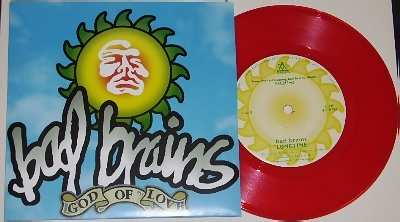 BAD BRAINS - God Of Love / Longtime W/PS - 7inch x 1