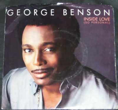BENSON,  GEORGE - Inside Love / In Search Of A Dream W/PS - 7inch x 1