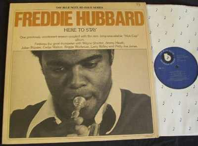 HUBBARD,  FREDDIE - Here To Stay - LP
