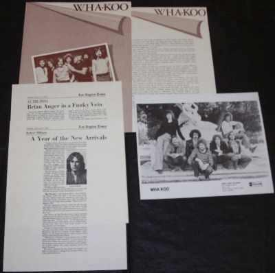 WHA-KOO - ABC Records Promo Press Kit - その他