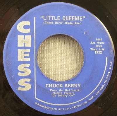 Berry, Chuck - Little Queenie / Almost Grown Vinyl 45 7 - Click Image to Close