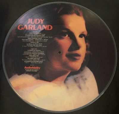 GARLAND,  JUDY - Self Titled Judy Garland - 33T