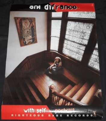 DIFRANCO,  ANI - With Self Portrait - Poster / Affiche