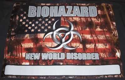 BIOHAZARD - New World Disorder - Poster / Affiche