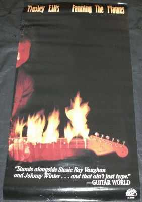 ELLIS,  TINSLEY - Fanning The Flames - Poster / Affiche