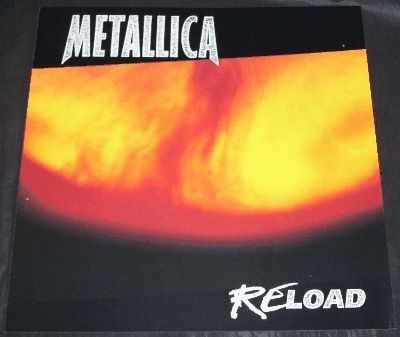 METALLICA - Reload - ポスター