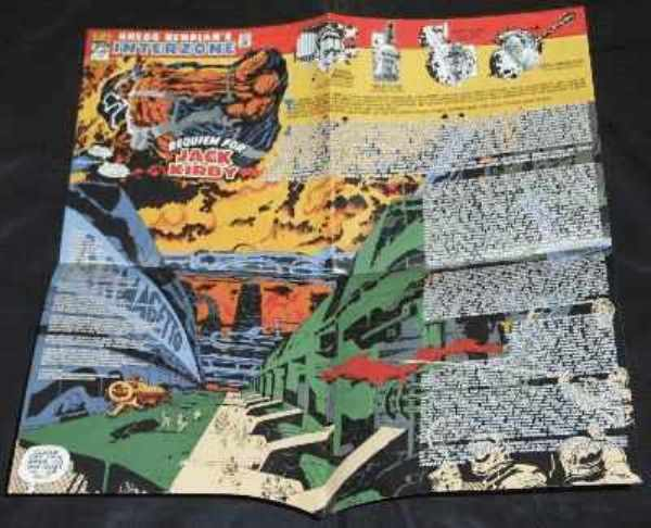 BENDIAN,  GREGG  INTERZONE - Requiem For Jack Kirby - Poster / Affiche