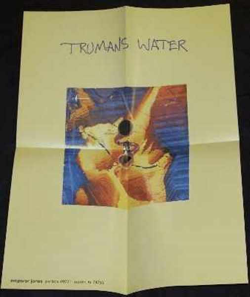 TRUMAN'S WATER - Self Titled Truman's Water - Poster / Affiche