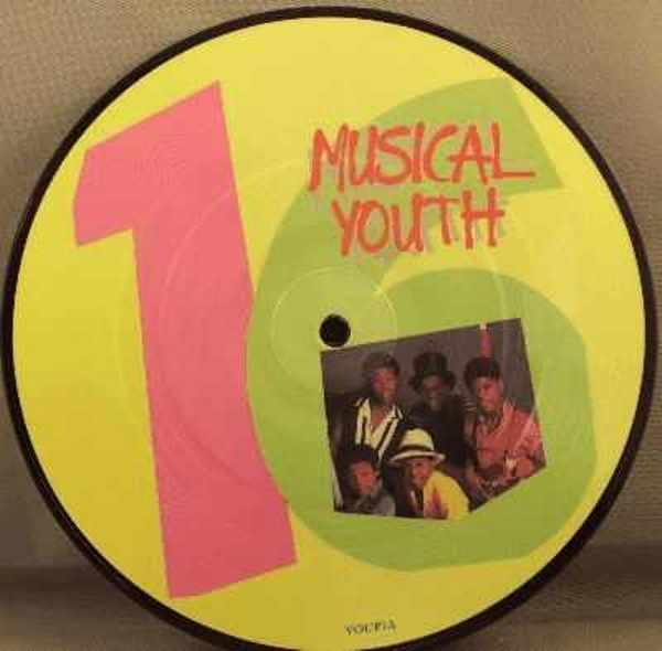 MUSICAL YOUTH - Sixteen / Strickly Vibes - 45T x 1