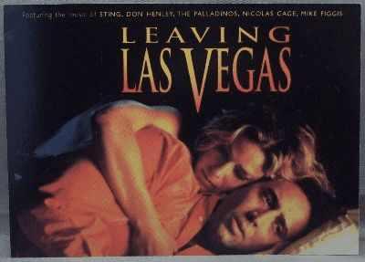SOUNDTRACK - Leaving Las Vegas Promo Postcard - Others