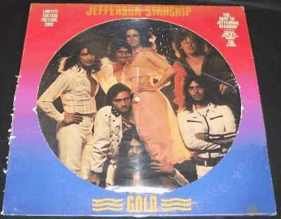 JEFFERSON STARSHIP - Gold (Picture Disc) - 33T