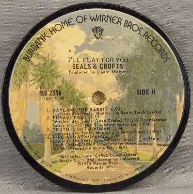 SEALS & CROFTS - I'll Play For You - Drink Coaster