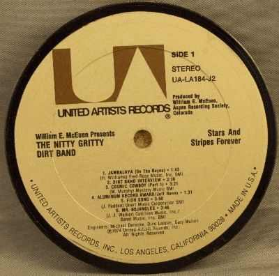 NITTY GRITTY DIRT BAND - Stars And Stripes Forever - Drink Coaster