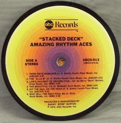 AMAZING RHYTHM ACES - Stacked Deck - Sous-Boque