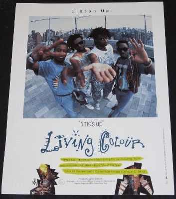 LIVING COLOUR - Times Up - Autres