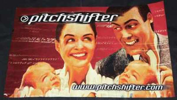 PITCHSHIFTER - www . Pitchshifter . Com - Poster / Affiche