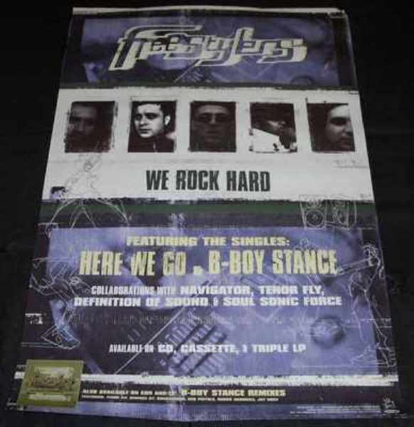 FREESTYLERS - We Rock Hard - Poster / Affiche