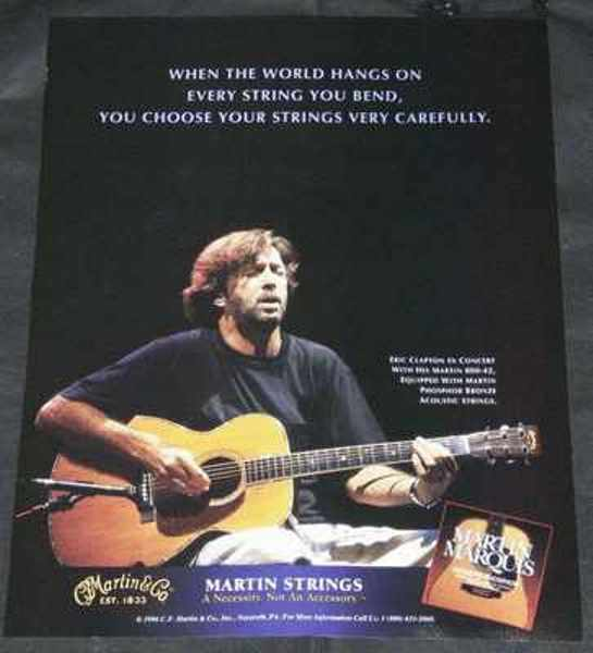 CLAPTON,  ERIC - Eric Clapton & Martin Guitars - Autres