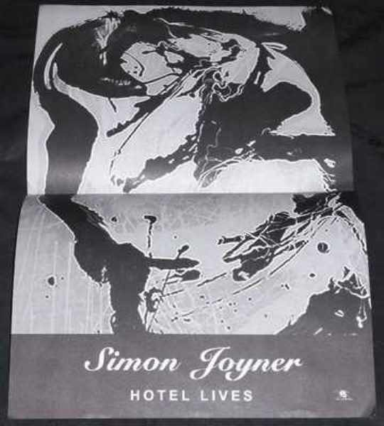JOYNER,  SIMON - Hotel Lives - Poster / Affiche