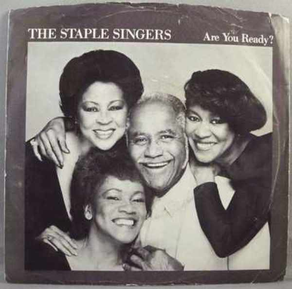 STAPLE SINGERS - Are You Ready / Love Works In Strange Ways  W/PS - 7inch x 1