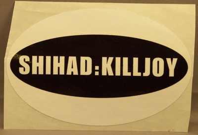 SHIHAD - Killjoy - ステッカー