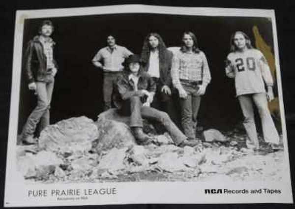 PURE PRAIRIE LEAGUE - 8 X 10 Press Kit Promo Photo - Autres