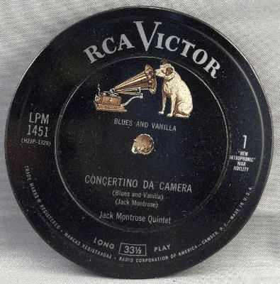 MONTROSE,  JACK - Blues And Vanilla - Drink Coaster