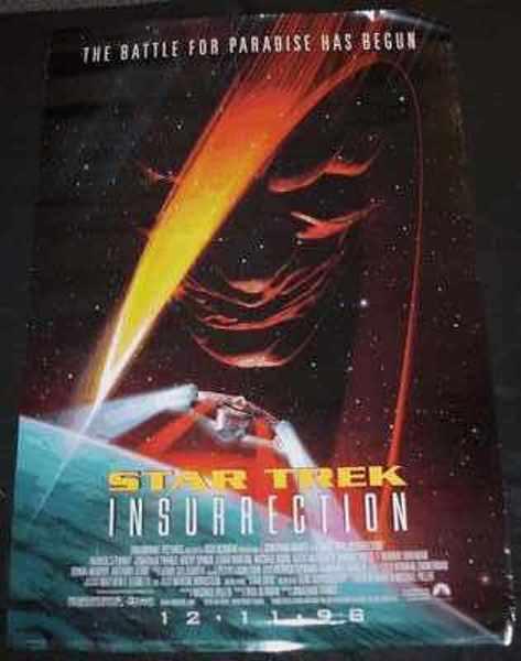 STAR TREK - Insurrection - Poster / Affiche