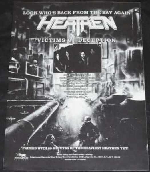HEATHEN - Victims Of Destruction - Autres