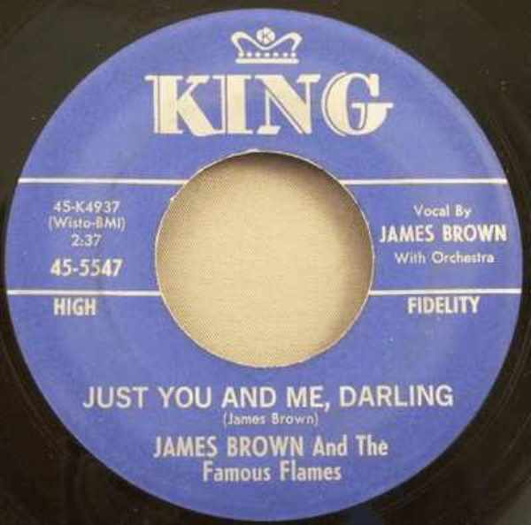 BROWN,  JAMES - I Love You,Yes I Do / Just You And Me Darling - 45T x 1