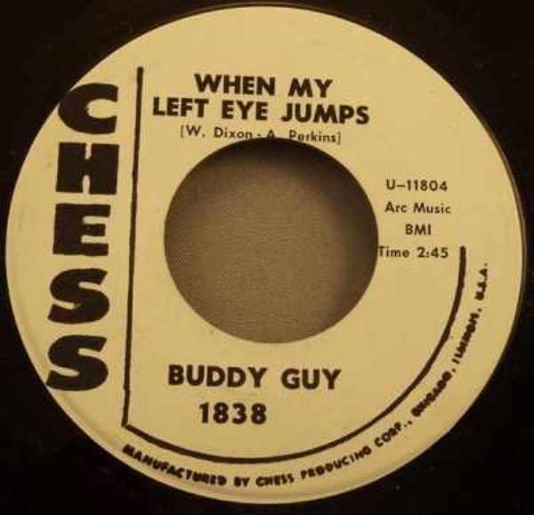 GUY,  BUDDY - Treasure Untold / When My Left Eye Jumps - 7inch x 1