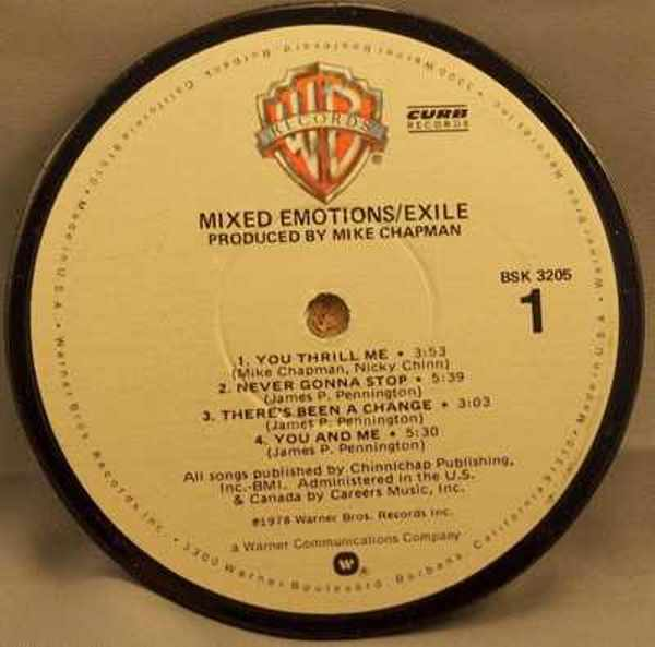 EXILE - Mixed Emotions - Drink Coaster