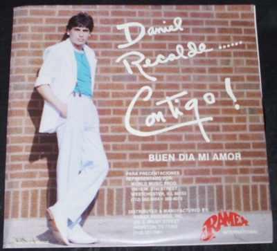 RECALDE,  DANIEL - Contigo / Buen Dia Mi Amor - 7inch x 1
