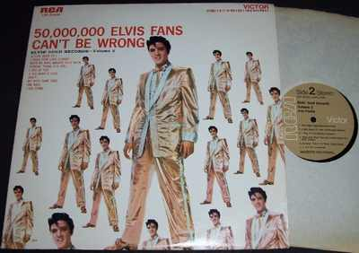 Presley, Elvis - 50,000,000 Fans...Elvis Gold Records Vol. 2 LP - Click Image to Close