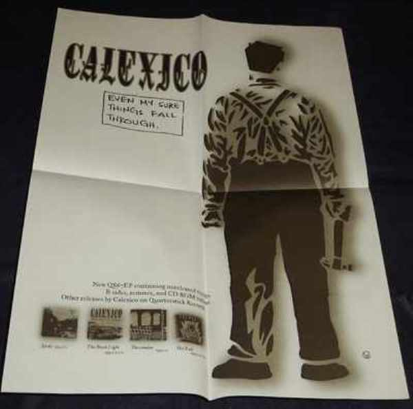 CALEXICO - Even My Sure Things Fall Through - Poster / Affiche