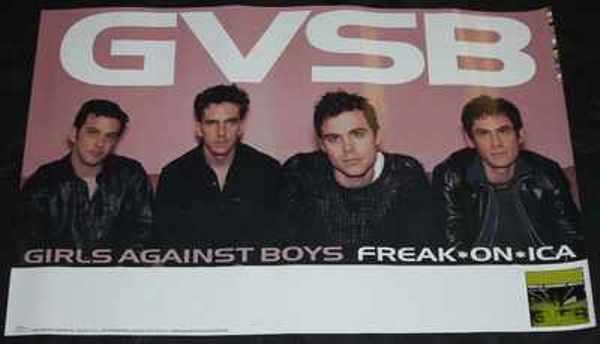 GIRLS AGAINST BOYS - Freak On Ica - ポスター