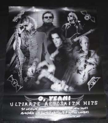 AEROSMITH - O, Yeah Ultimate Hits - Poster / Affiche