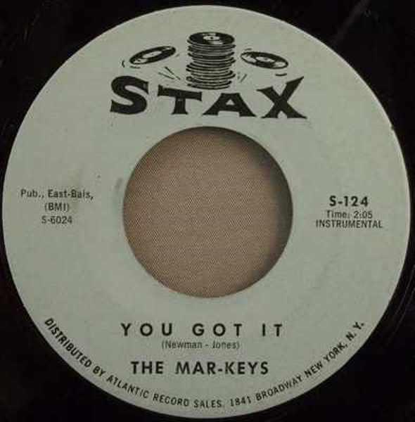 MAR-KEYS - You Got It / Whots Happenin' - 7inch x 1
