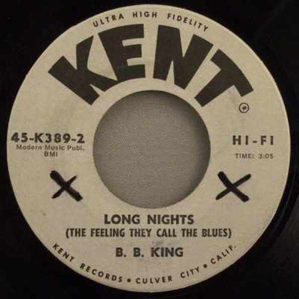 KING,  B.B. - Long Nights / Trouble In Mind - 7inch x 1